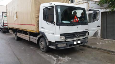 Installation-GPS-dans-un-camion-Mercedes