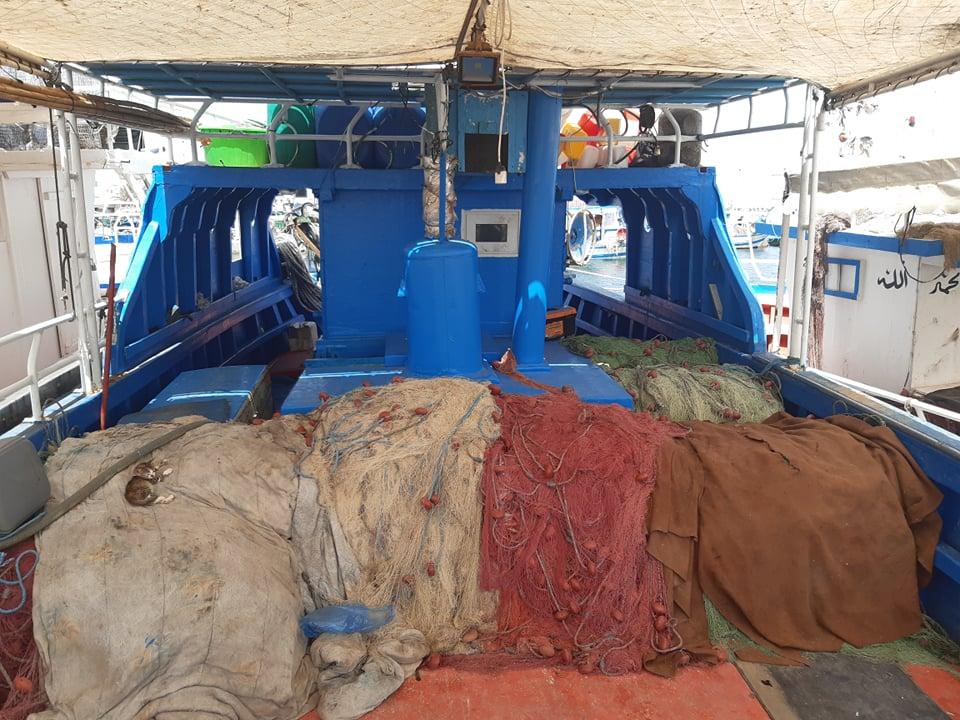 Bateaux au Port de Tbolba